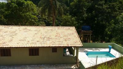 Chácara Com Casa E Piscina Em Guararema Sp- 5.323metros Quad