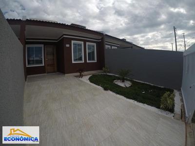 Casa Para Venda Em Fazenda Rio Grande, Eucaliptos-greenfield, 3 Dormitórios, 1 Banheiro, 2 Vagas - 915