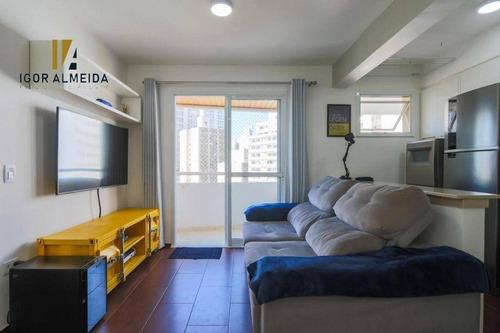 Imagem 1 de 26 de Apartamento Com 1 Dormitório À Venda, 43 M² Por R$ 595.000,00 - Bela Vista - São Paulo/sp - Ap47931