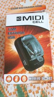 Cargador Universal Midi Cell Modelo Uc-002 Nuevo