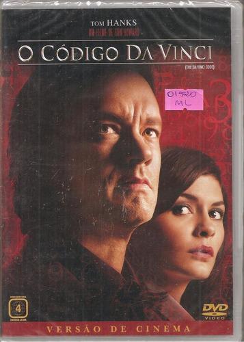 Dvd O Código Da Vinci, Versão De Cinema - Tom Hanks