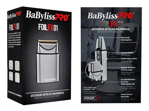 Afeitadora De Cabello Babyliss Pro Foil Fx01 Inalambrica