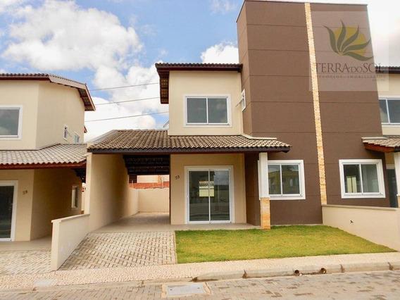 Duplex Novos Em Condomínio No Eusébio. - Ca0716