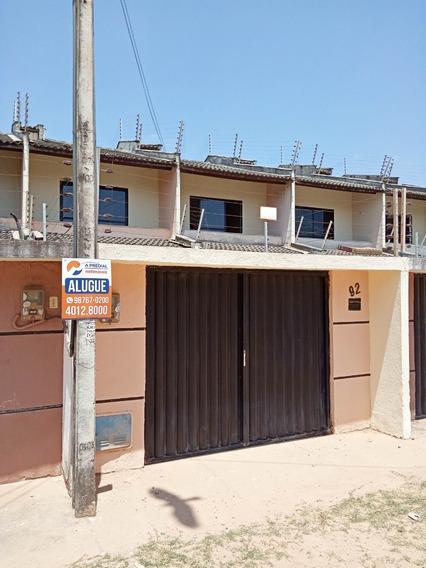 Casa Com 3 Quartos No Mondubim, Garagem, Varanda, Quintal