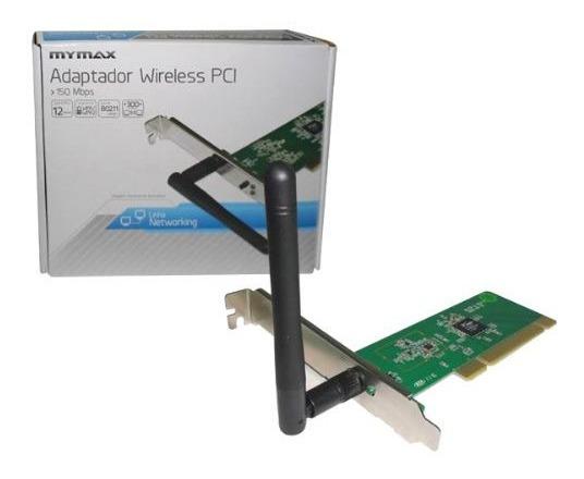 Placa De Rede Semfio Pci 150mbps- Mymax - Mwa / Wl13p-a Wireless