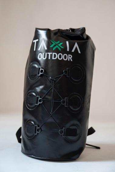 Mochila Estanco 35 Litros 100 % Impermeable Taxia Outdoor