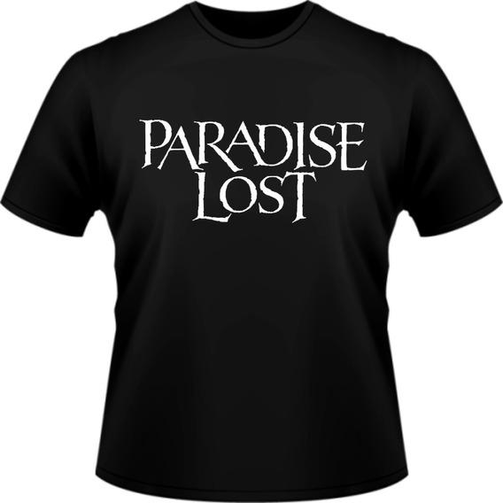 Camiseta Camisa Paradise Lost Banda Rock Personalizada