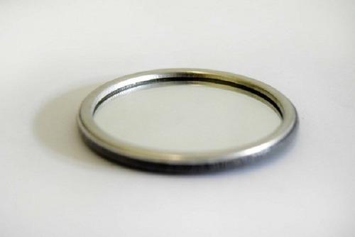 Button Espelho De Plástico (100 Unidades) 65mm