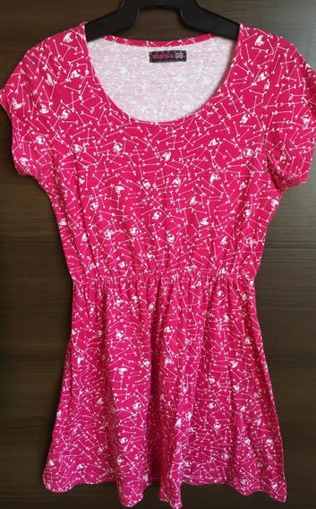 Vestido Feminino Rosa - Loja Marisa