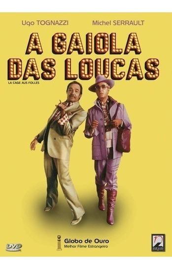 Dvd A Gaiola Das Loucas Cult Original (lacrado)