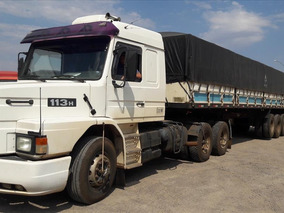 Scania 113 360 Ano 1998 Com Carreta Rondon 2008