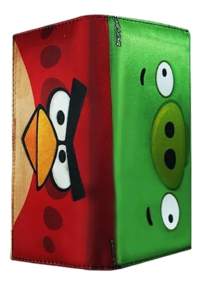 Angry Birds Cartera Larga Pig Red