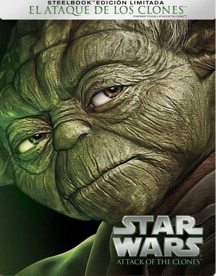 Star Wars 2 El Ataque De Los Clones Steelbook Blu-ray