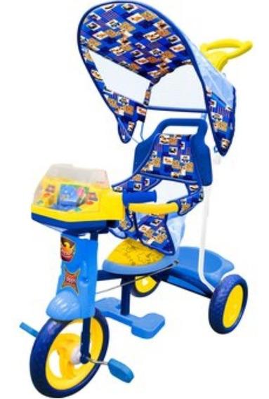 Triciclo Rainbow Azul Nuevo Mytek
