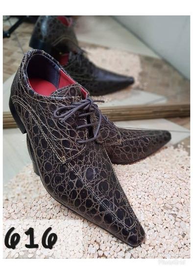 Sapato Social Masculino Couro Importado Eua +broche+frete**
