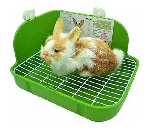 Esquinera Para Conejos Rubyhome Caja De Arena Para Conejos,