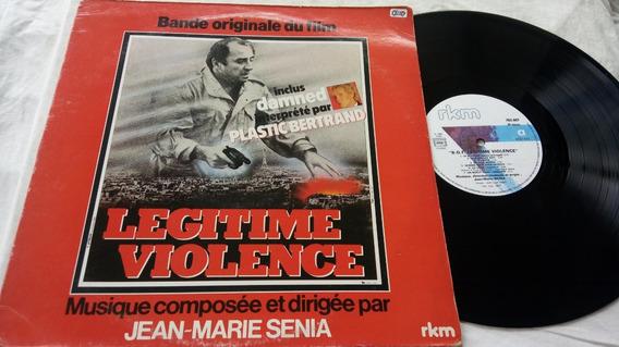 Vinil Legitime Violence Jean-marei Senia Plastic Bertrand Lp
