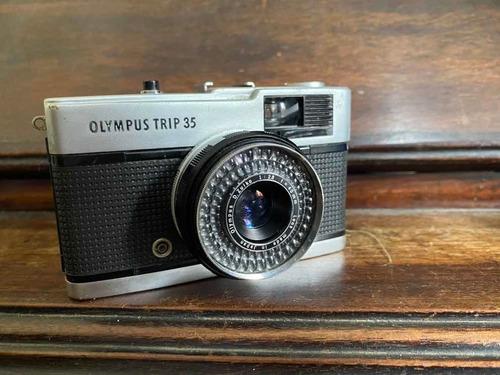 Olympus Trip 35 Revisada Lente E Fotômetro