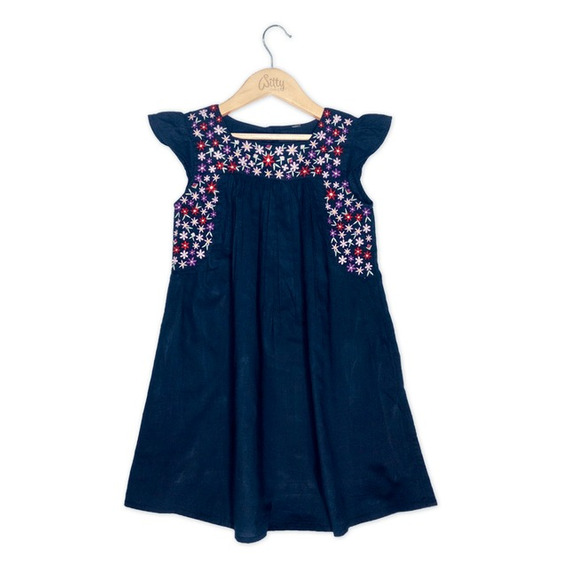 Vestido No Te Rindas Dont Give Up Azul Nena Witty Girls