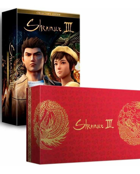 Shenmue Iii 3 Collectors Edition Limited Run Ps4 Física
