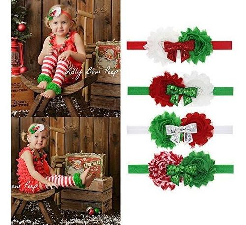 Imagen 1 de 7 de Binaryabc Diadema De Navidad Para Bebe, Diseño De Lazo, Rega