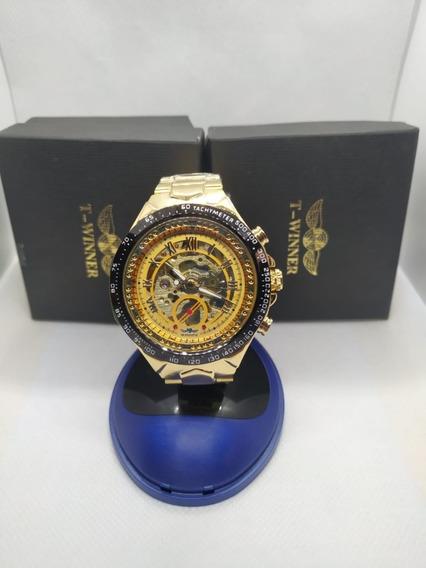 Relógio Winner Skeleton 432 100% Original
