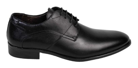 Zapato Vestir Hombre Hush Puppies Town Negro Cuero