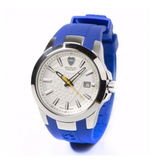 Reloj Swiss Military Boca Juniors Caucho Edic Limit + Envio