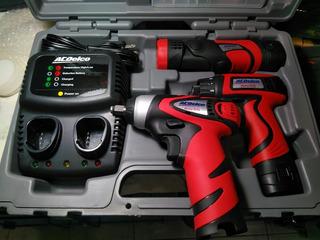 Llave Pistola Impacto A Batería 3/8 1/4 Acedelco Acdard847li