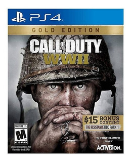 Call Of Duty Ww2 Gold Edition Ps4 Nuevo Sellado Español