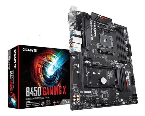 Motherboard Gigabyte B450gaming X Amd Am4 Ddr4
