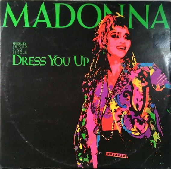 Madonna Lp Single Dress You Up Importado 1985 N.494