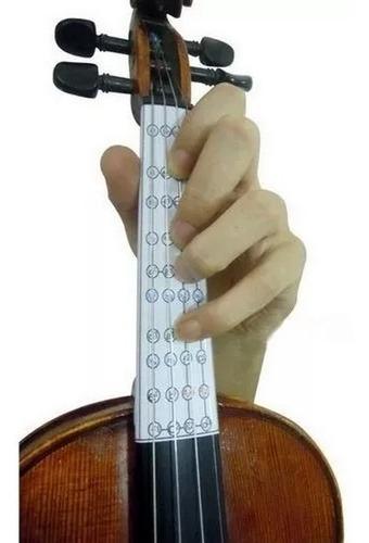 Adesivo Escala Natural/cromática Violino 4/4
