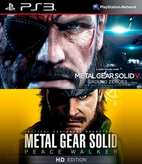 Metal Gear Solid V Ground Zeroes + Peace Walker Hd Ps3 Gcp