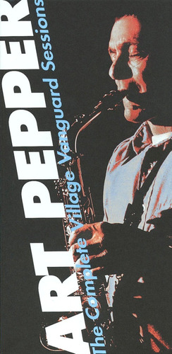 Box Jazz Art Pepper Complete Village Vanguard Sessions 9 Cds