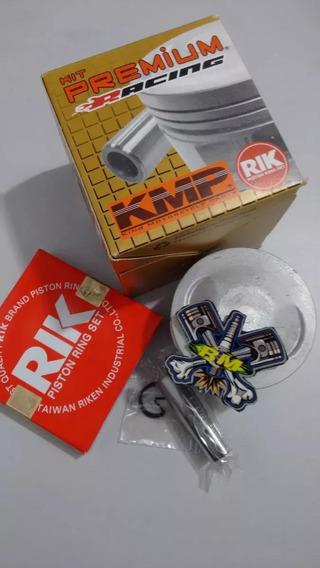 Kit Pistão Taxado Crf 230 Premium 0,50 66mm + Kit A De Junta