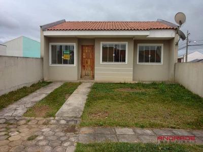 Casa Residencial Para Locação, Santa Terezinha, Fazenda Rio Grande - Ca0041. - Ca0041