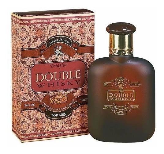Perfume Double Whisky Edt Masculino 100ml Evaflor