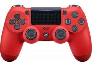Controle Sem Fio Playstation 4 Dualshock Vermelho - Sony