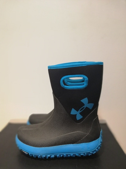Botas De Lluvia Under Armour Con Suela Michelin Impecable