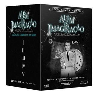 Dvd Além Da Imaginação - Série Completa 24 Discos - Original
