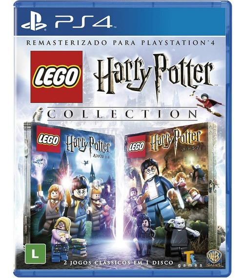 Jogo Lego Harry Potter Collection - Ps4 - Novo Mídia Fisica