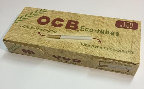 Eco Tubes Ocb Con Filtro 100u Tubos Para Armador Local Once