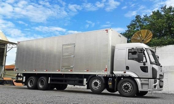 Ford Cargo 2428 Baú Ano 2011/12 (ler Dercriçao)