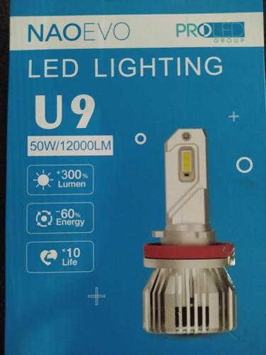 Luces Led U9 Bombillos Para Vehículos (carros Y Motos)