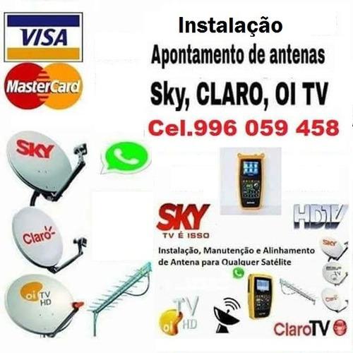 Imagem 1 de 1 de Instalador Antenas Apontamentos Sky Campos Dos Goytacazes