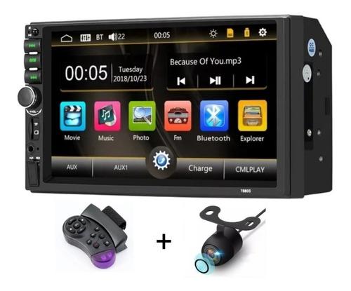 Imagen 1 de 10 de Radio Multimedia 7  Camara De Reversa, Control Y Bluetooth