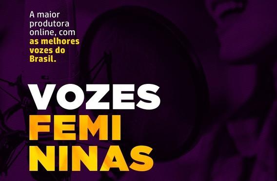 2 Audio Para Radio Voz Feminina Offs | Spots | Chamada