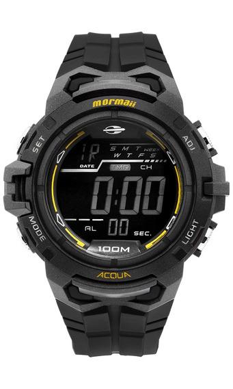 Relógio Masculino Borracha Mormaii Mo1147a/8p Barato Oferta
