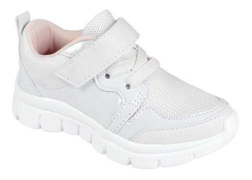 Tênis Lilica Ripilica Original Velcro Branco Nº 22 24 26